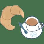 coffee-croisant