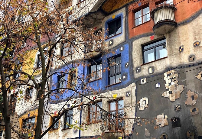 hunderwasserheus vienna city guides max brown hotels